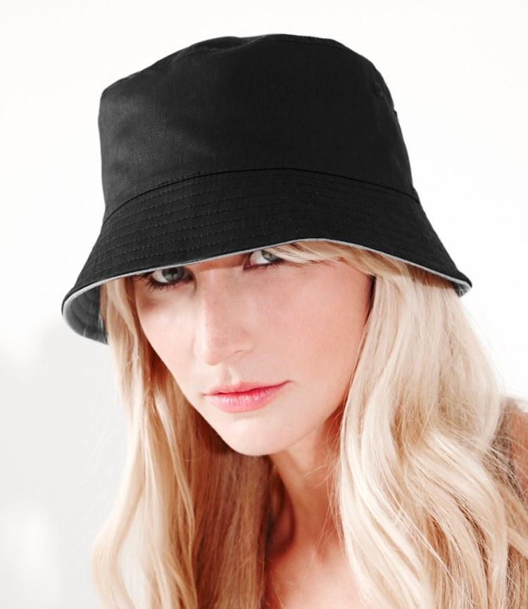 Reversible bucket hat bedrukken