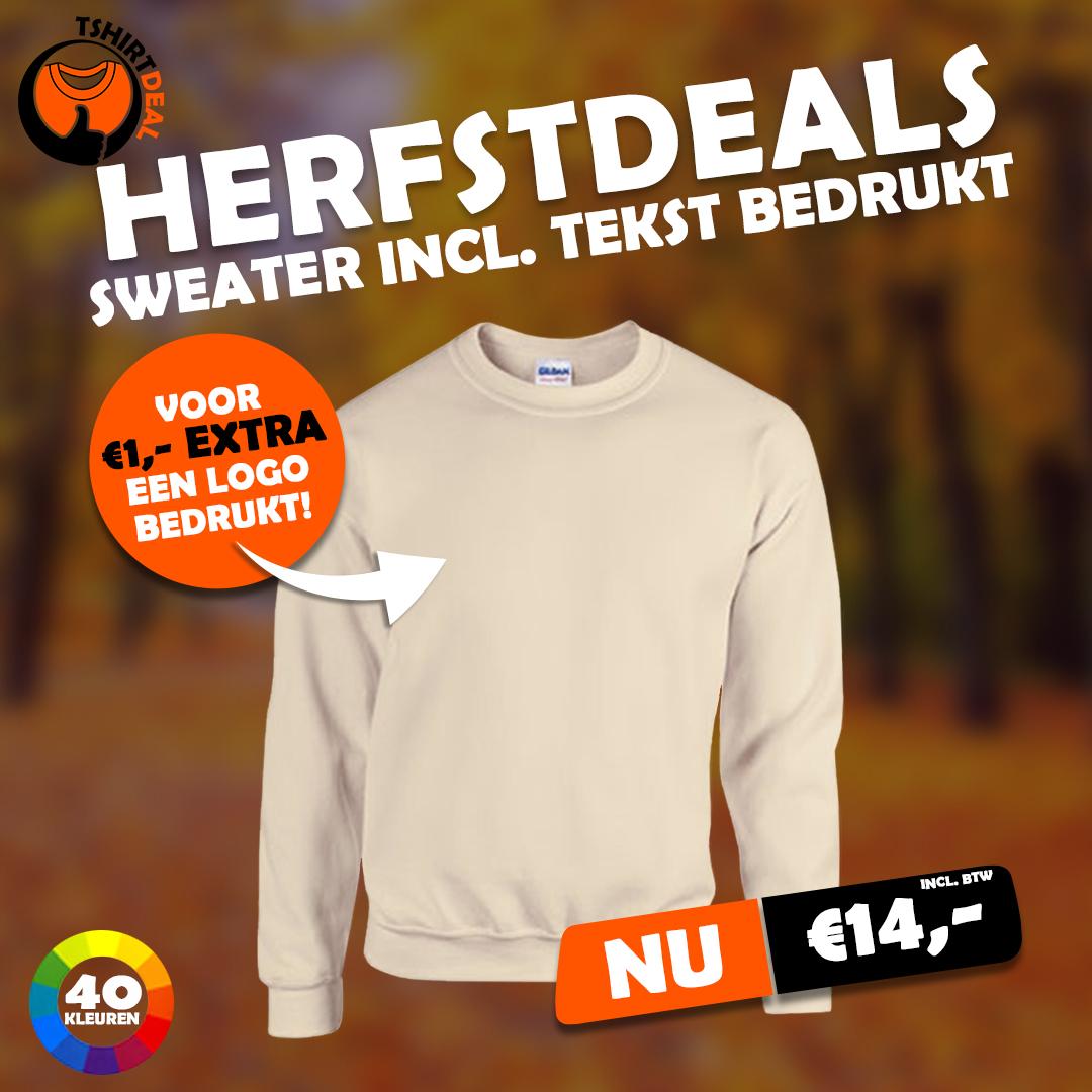 HERFSTDEAL - SWEATER