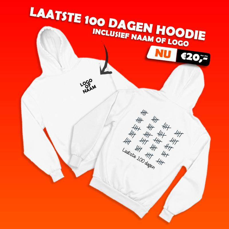 laatste 100 dagen hoodie