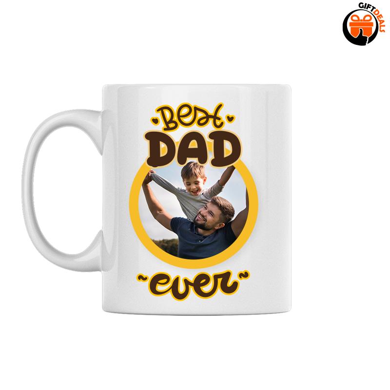 'Best dad ever' Vaderdag foto mok