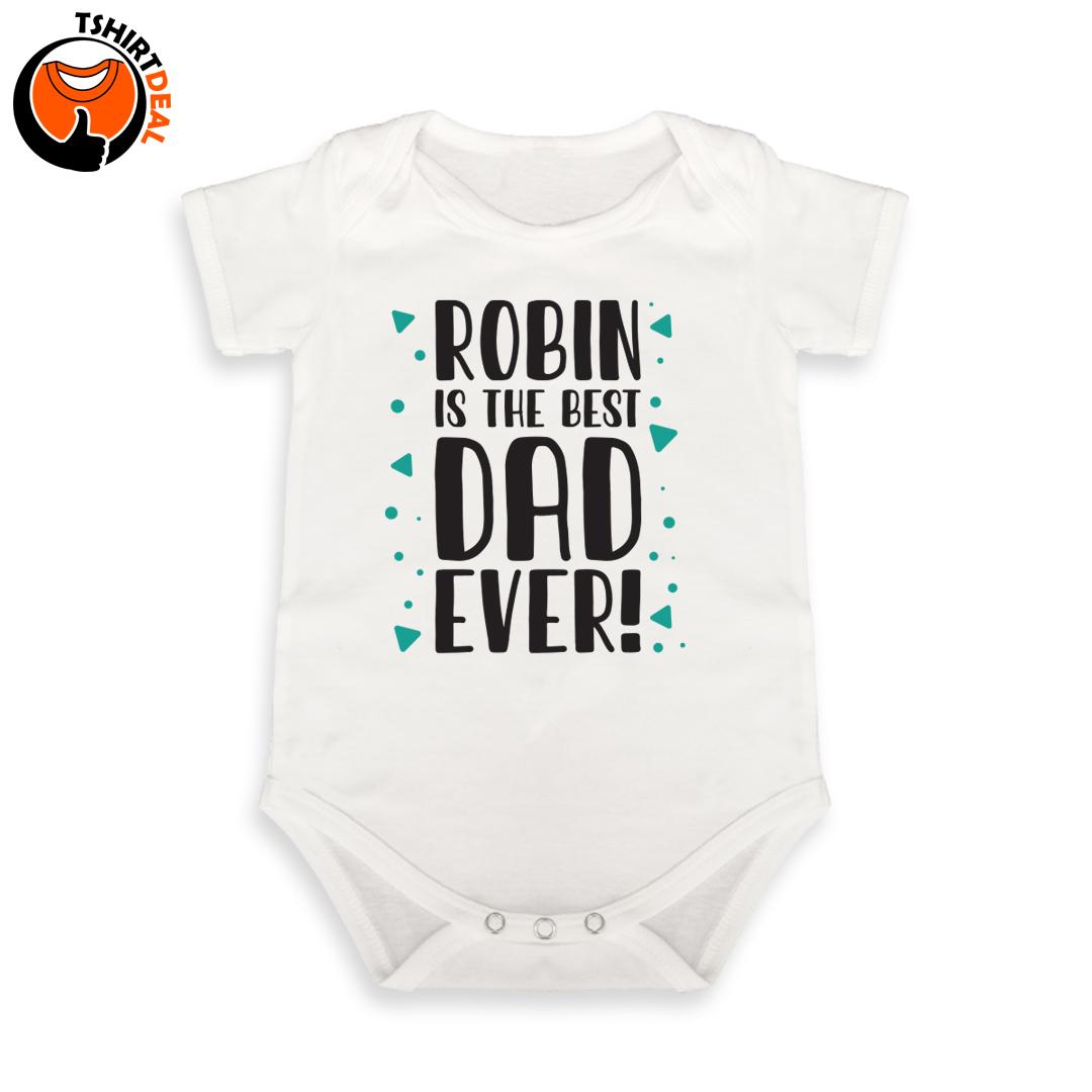 Best dad babyromper