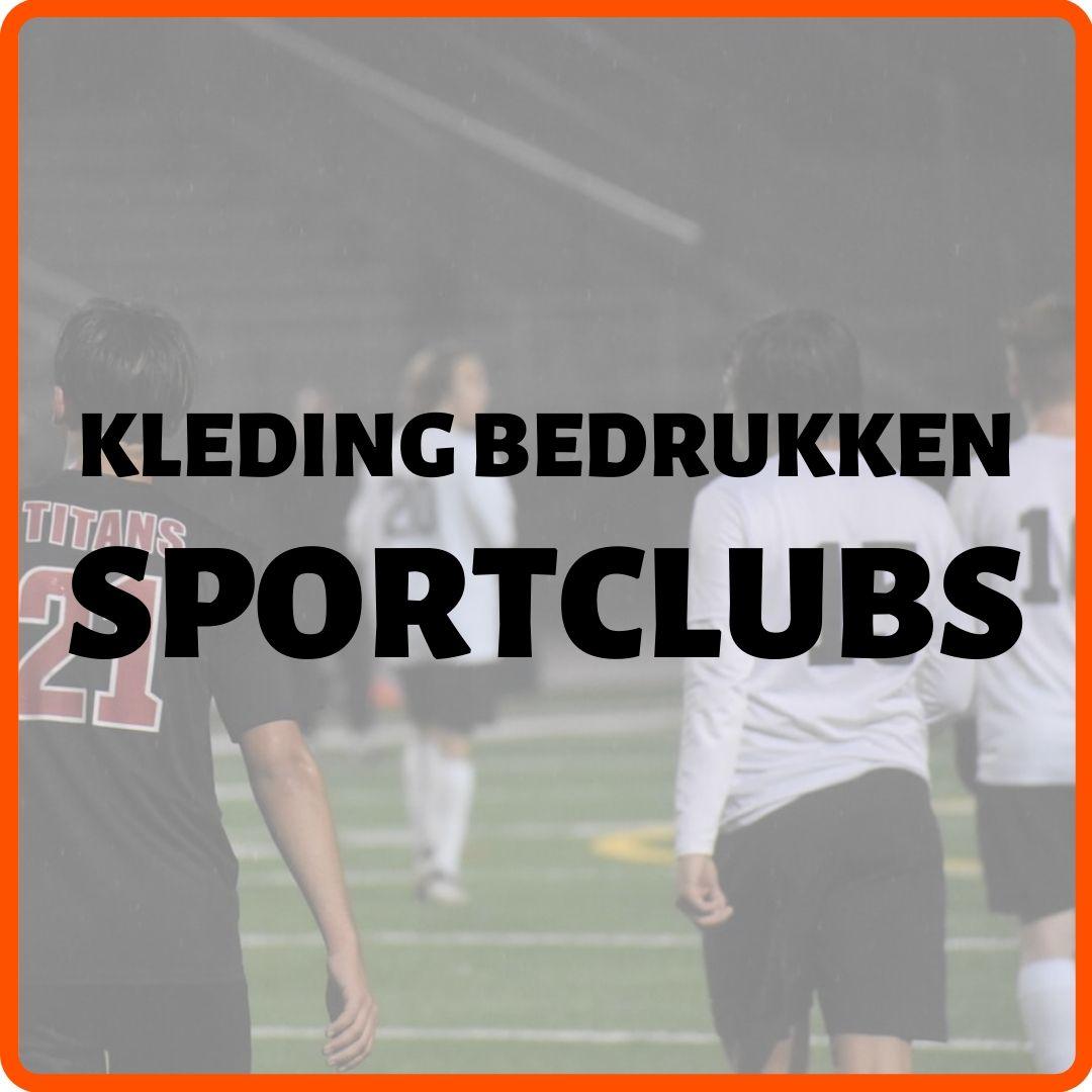 Kleding bedrukken sportclubs
