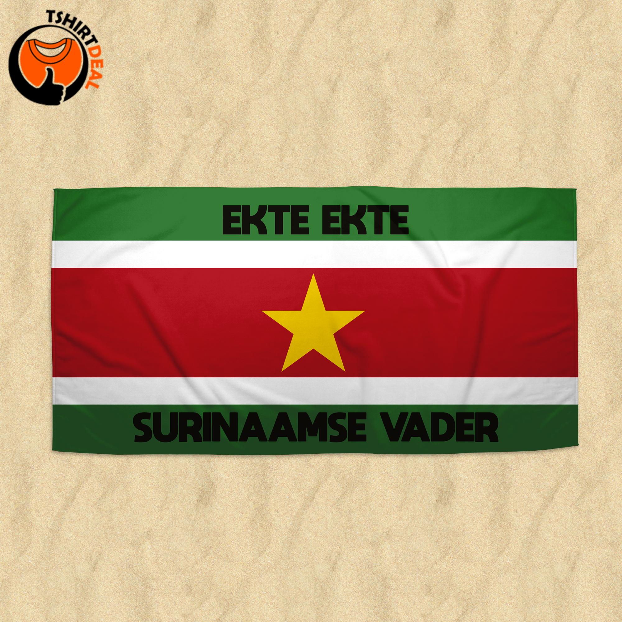 Handdoek 'Ekte Ekte Surinaamse vader'