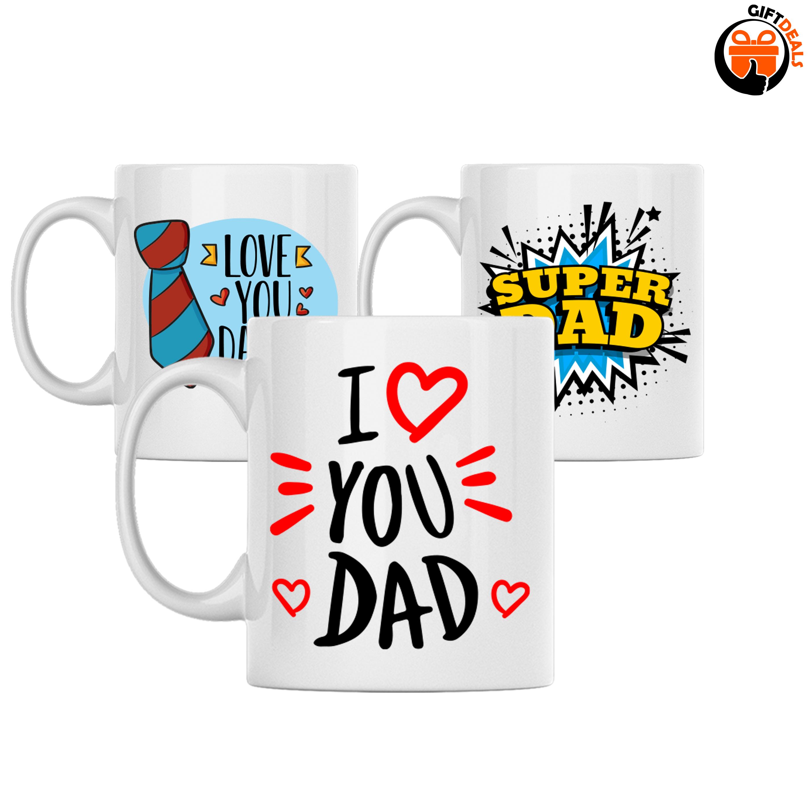Diverse Vaderdag mokken