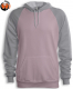 Baby Pink - Heather Grey